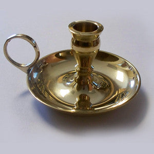 Brass Chamberstick Holder