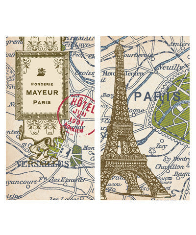 Paris Map Match Boxes