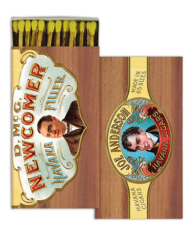 Cigar Box Match Boxes