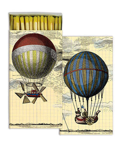 Hot Air Balloons Match Boxes