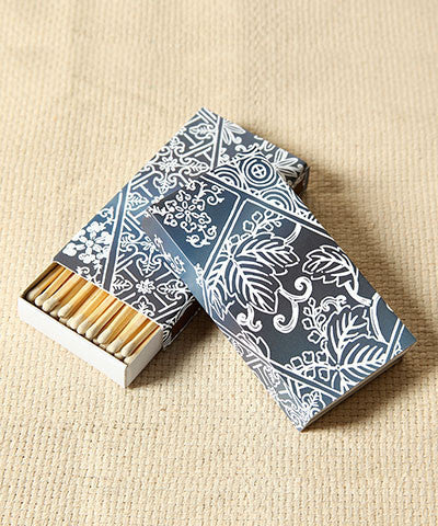 Indigo Match Boxes