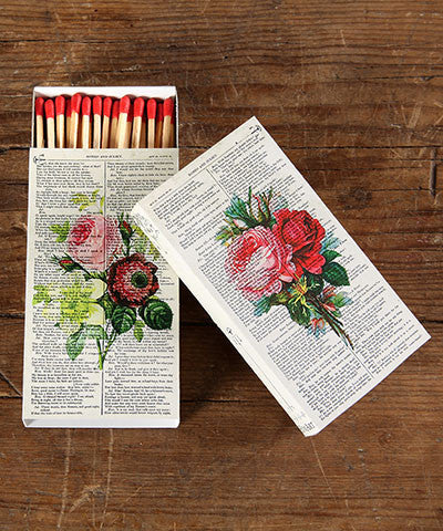 Red Rose Match Boxes