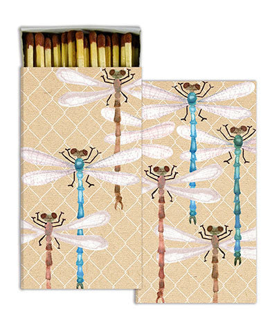 Dragonfly Match Boxes