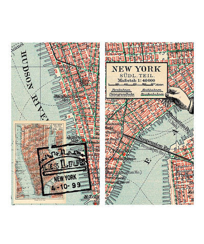 New York Map Match Boxes - The Greater Goods