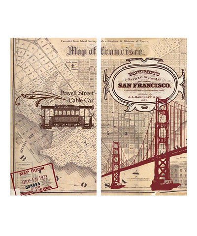San Francisco Map Match Boxes