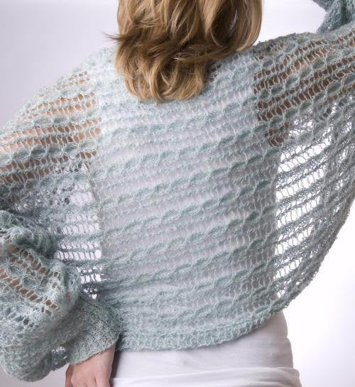 Silk Lace Shrug