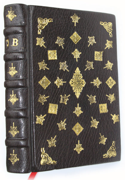 Hand-bound Embossed Leather Journal