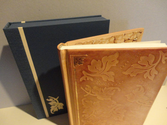 Full-leather Acanthus Leaf Journal