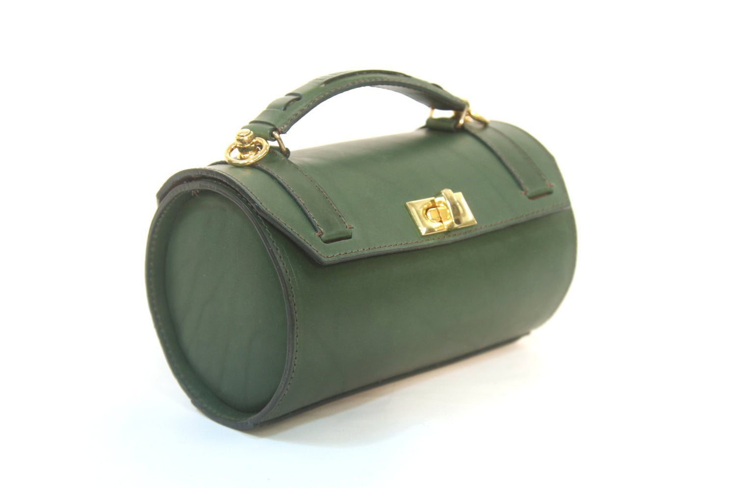Cylindrical Luxury Handbag