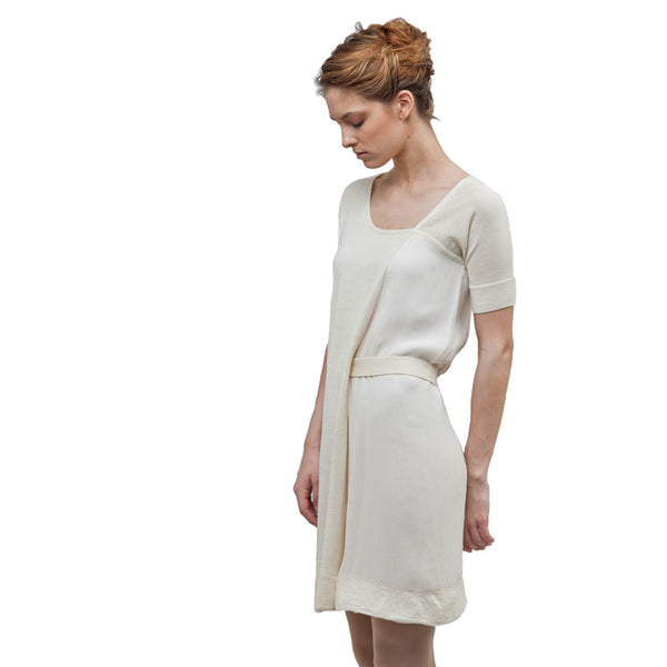 NFP Cream Mini Dress