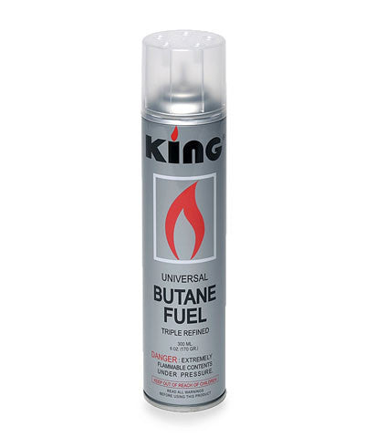 King Butane Refill Bottle for Decorative Torch