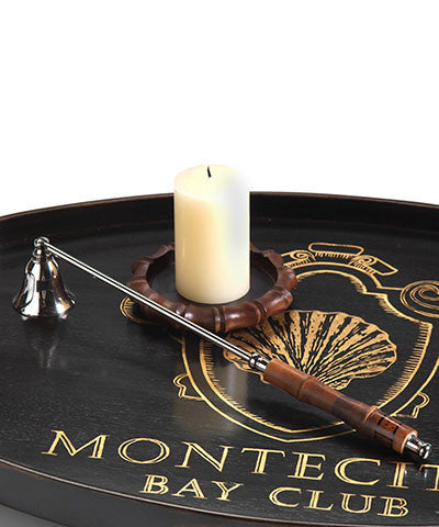 Montecito Candle Snuffer with Bamboo Handle