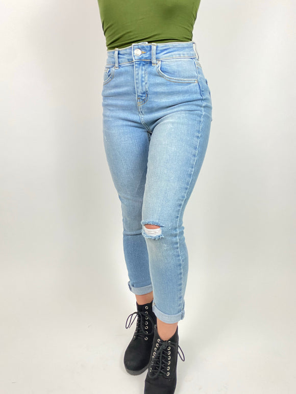 Hayley High Rise Jeans By Wax