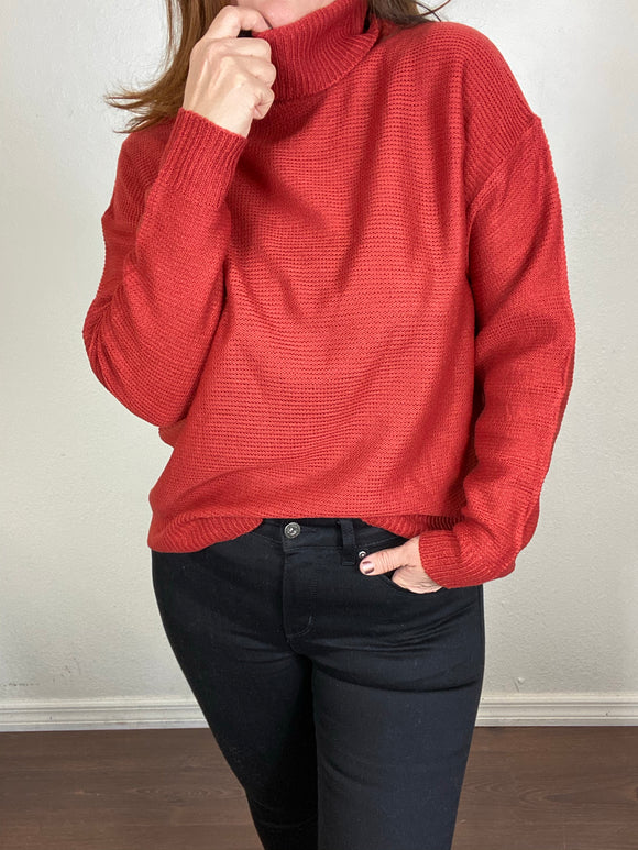 Meagan Turtleneck Sweater