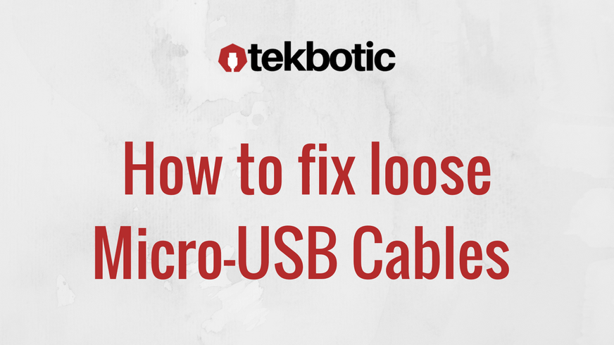 The Problem With Micro-USB Cables (and the entire world)