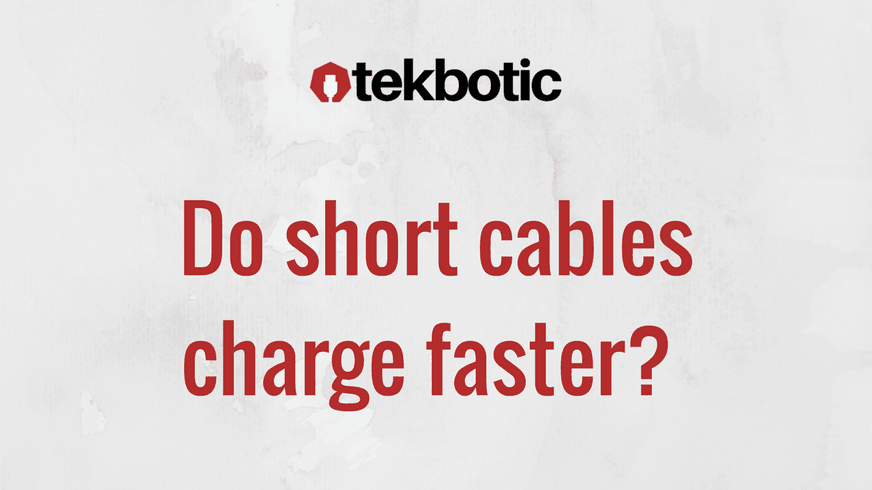 Charge Faster - The Lowdown on Short vs. Long Cables