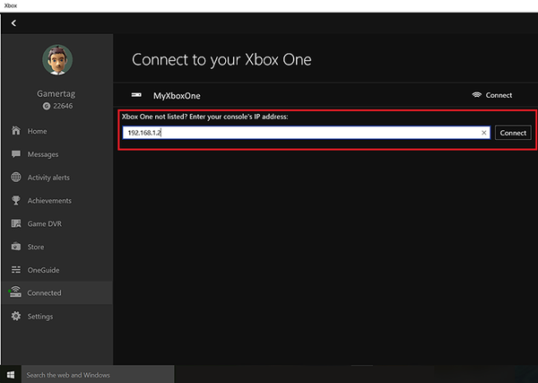 Xbox One Remote Streaming