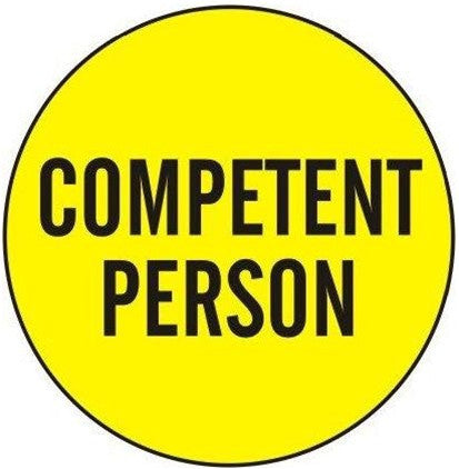 You are a competent person