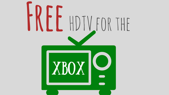free hdtv for the xbox one