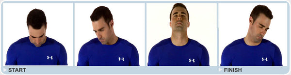 Neck roll exercise