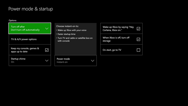 Xbox One Power Mode: Instant on Vs. Energy Saver