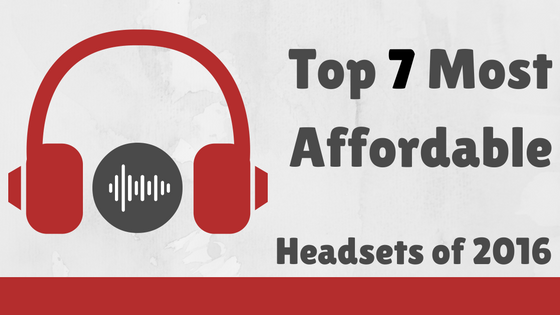 Top 7 Most Affordable Gaming Headsets (under $100)