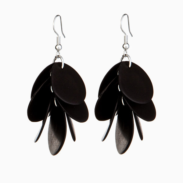 Ayllu Earrings Black