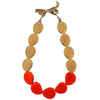 Misti Necklace in Tangerine