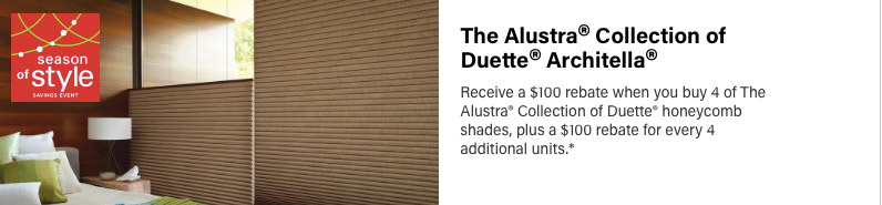 Hunter Douglas All-star Duette Architella Discount