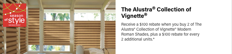 Hunter Douglas Allustra Vignette Discount