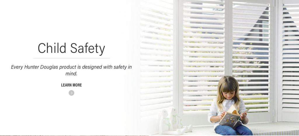 Hunter Douglas Child Safety Information