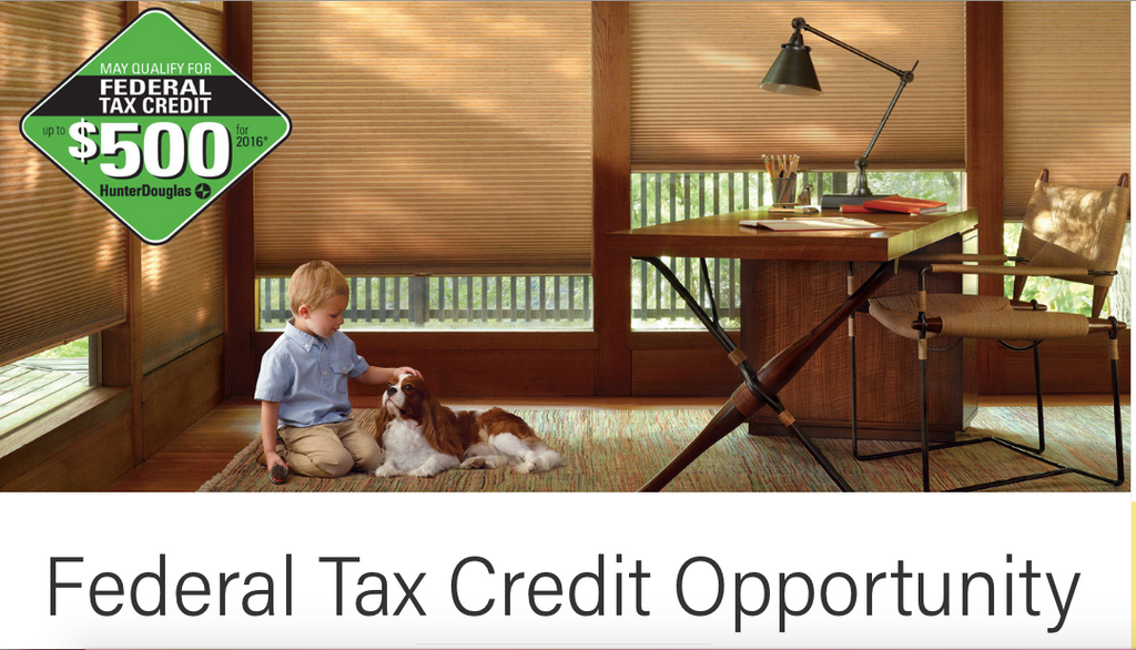 Hunter Douglas Federal Tax Credit Information