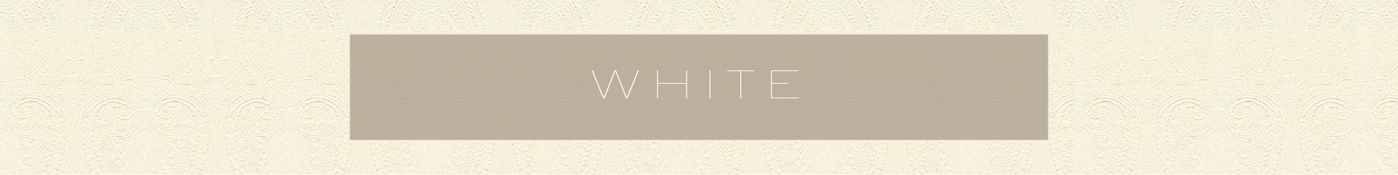 White, the great palette cleanser. There's nothing more soothing – or romantic – than a room dressed in layers of white, cream or ivory. And despite what you may think, white and light upholstery CAN be practical, just check out all the options in Sunbrella, Crypton, Sensuede and Bella Dura.