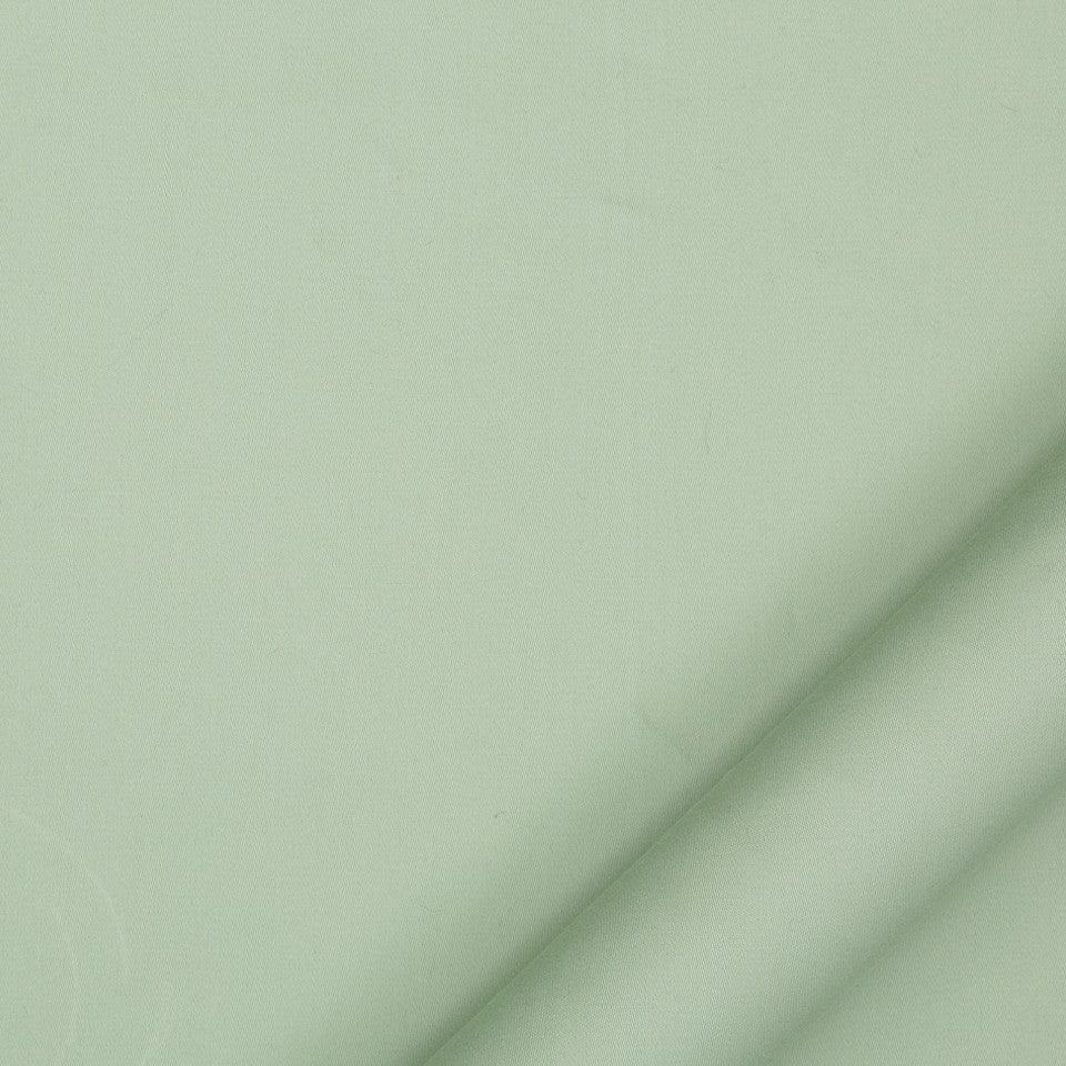 DRAPEABLE COTTON Lustre Sheen Fabric - Celadon