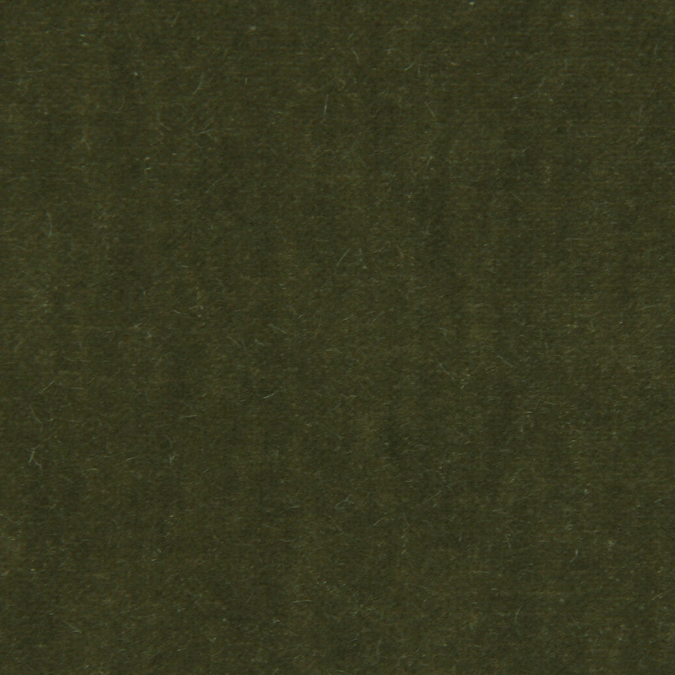 LUXURY MOHAIR III Plush Mohair Fabric - Tuscan Olive