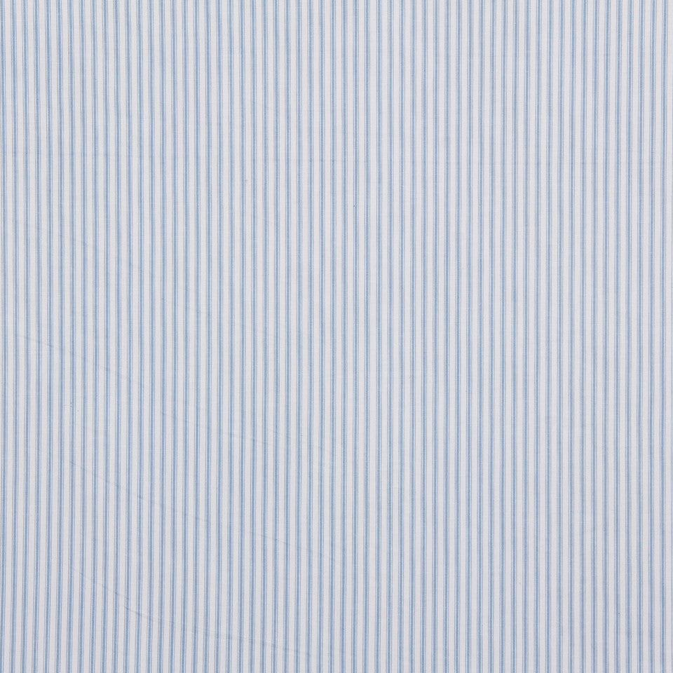 TICKING STRIPES Ticking Fabric - Sky