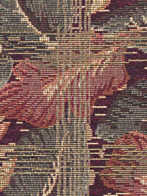 TRADITIONAL    WOVENS Underbrush Fabric - Damson Plum