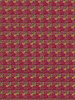 MODERN WOVENS Cobble Lane Fabric - Merlot
