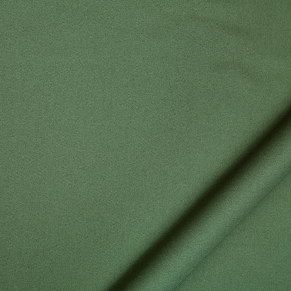 DRAPEABLE COTTON Lustre Sheen Fabric - Forest