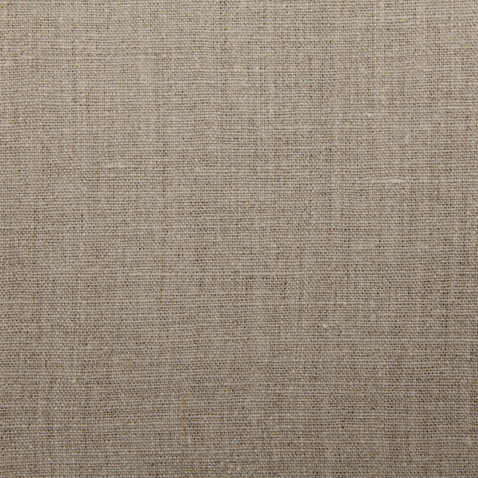 LINEN, WOOL AND CASHMERE SOLIDS Linen Solid Fabric - Natural