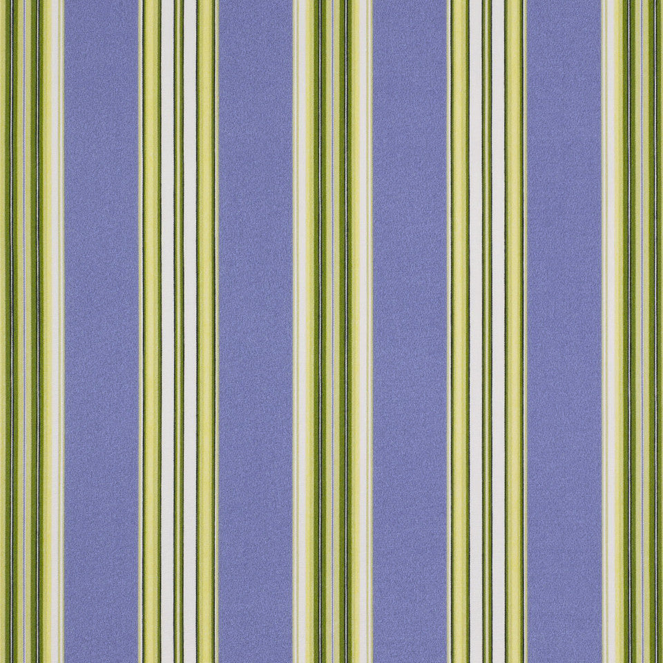 OUTDOOR @ HOME Padgetville Fabric - Sunblue