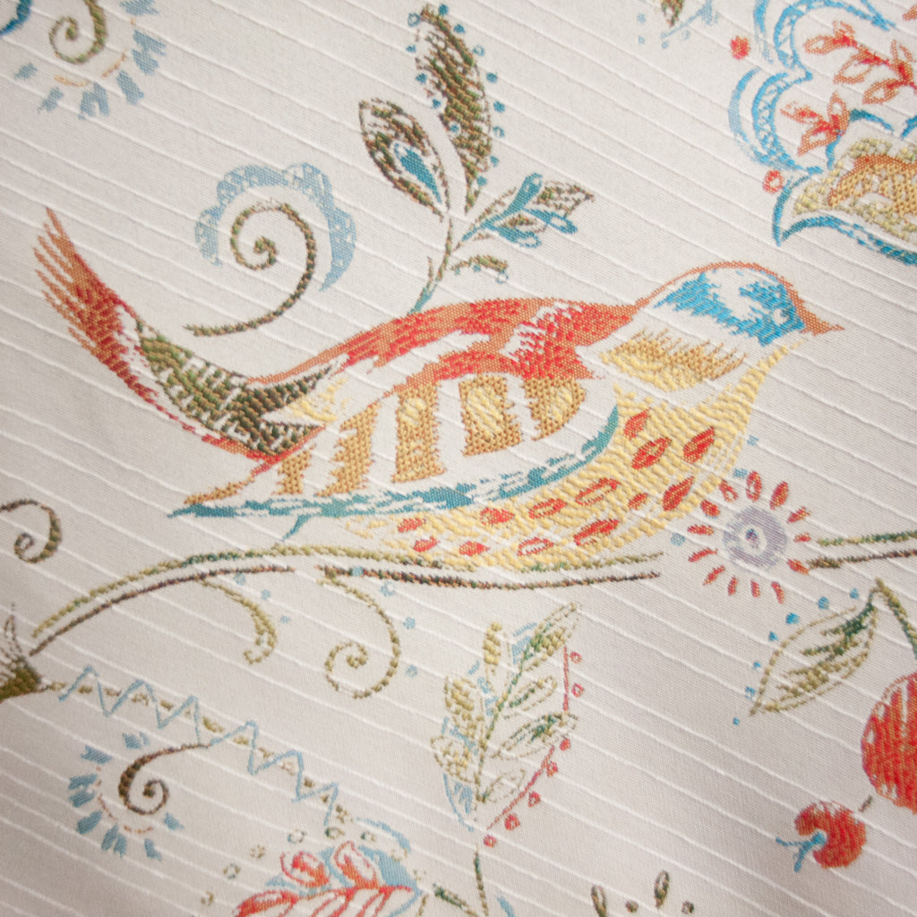 Whimsical Bird Jacquard
