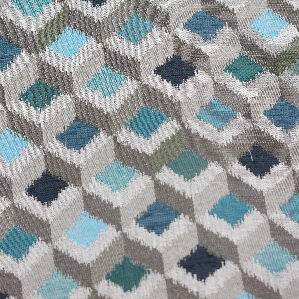 Turquoise Towers Fabric