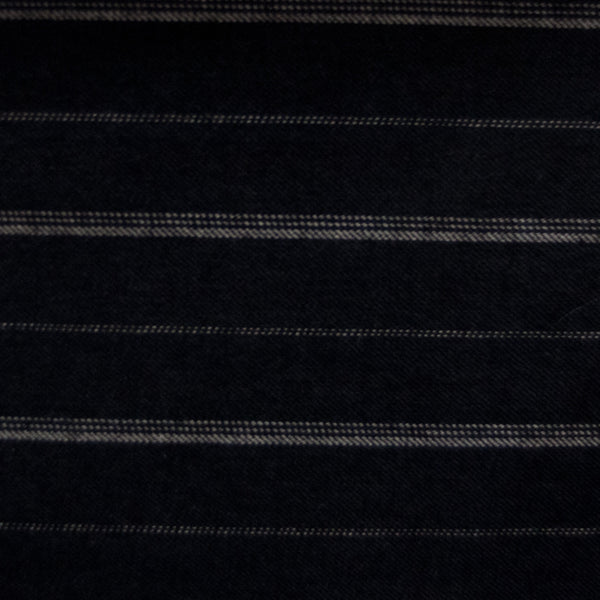 Meaden Stripe - Charcoal