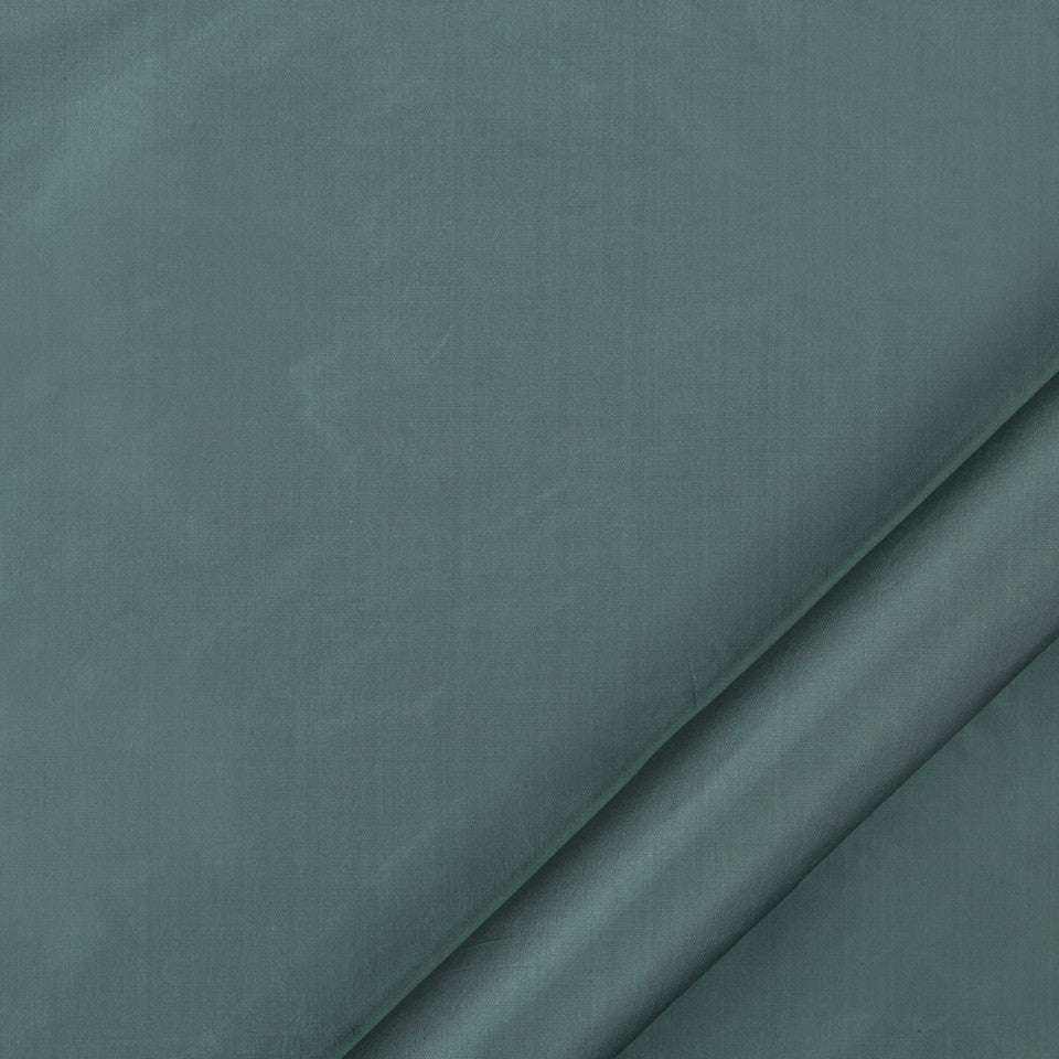 DRAPEABLE SILK Kerala Fabric - Aegean