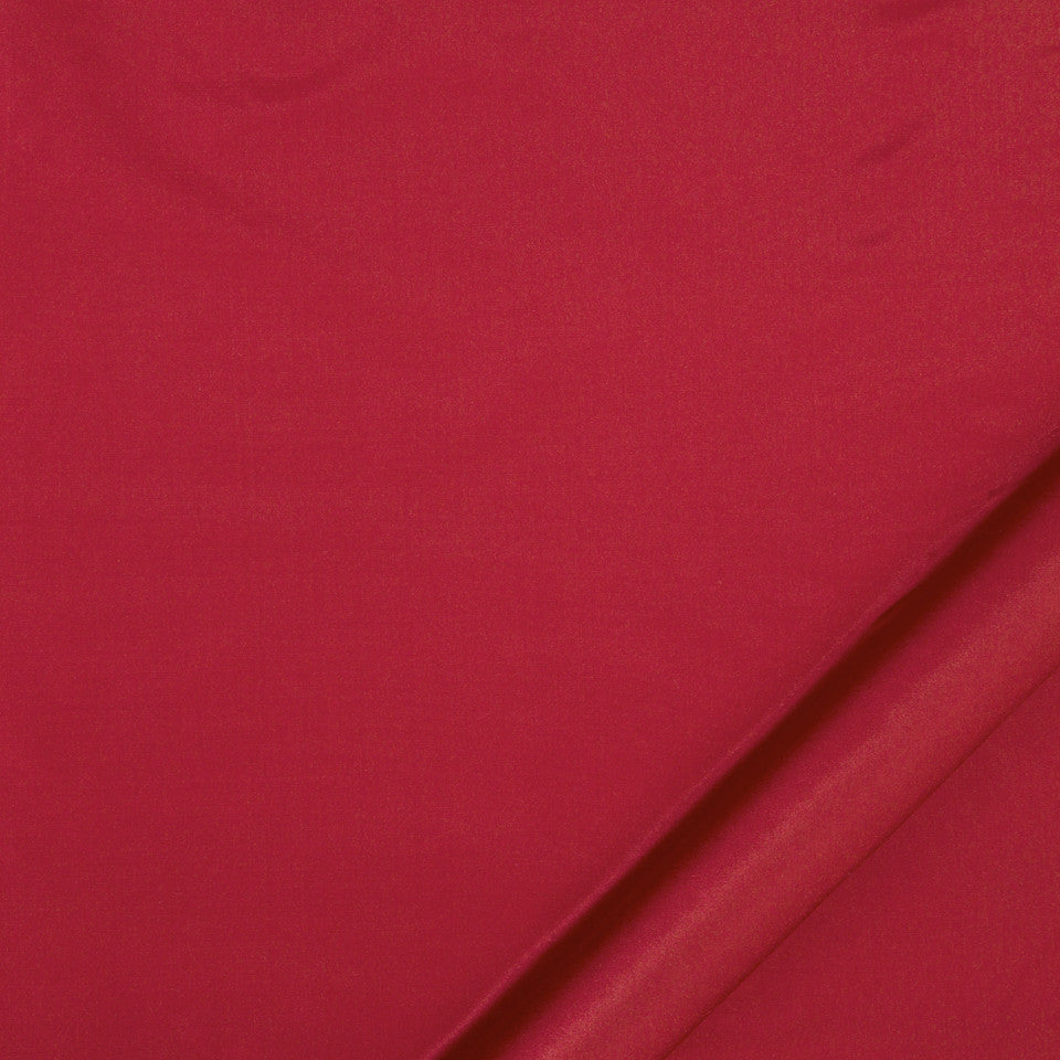 DRAPEABLE SILK Kerala Fabric - Scarlet