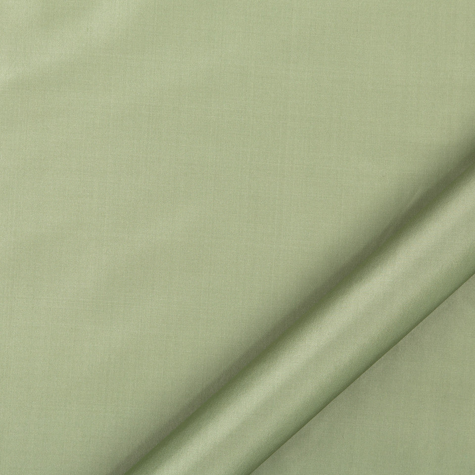 DRAPEABLE SILK Kerala Fabric - Misty Green