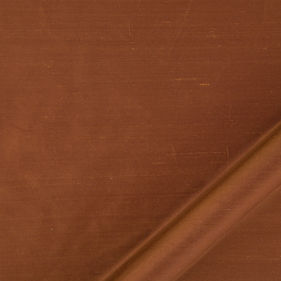 DRAPEABLE SILK Allepey Fabric - Copper
