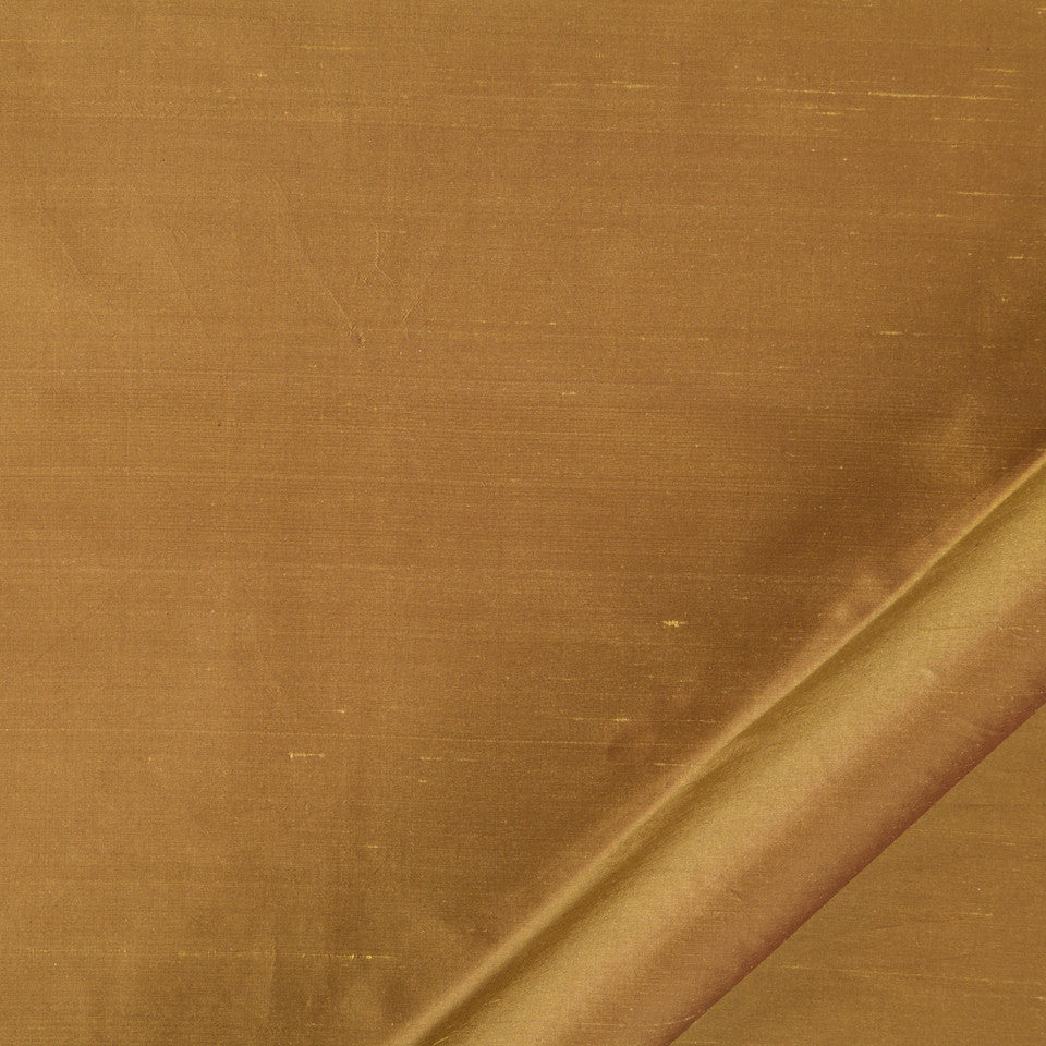 DRAPEABLE SILK Allepey Fabric - Caramel