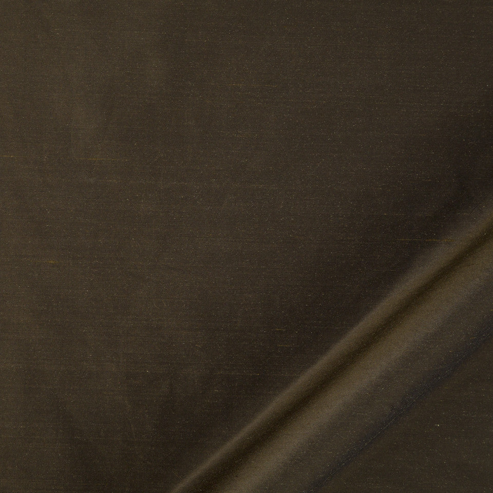 DRAPEABLE SILK Allepey Fabric - Espresso